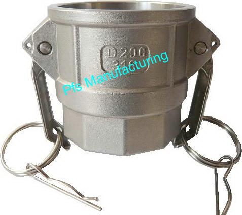 SS316 Cam and Groove Coupling Type D
