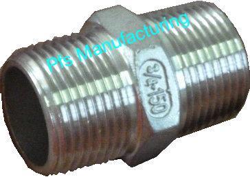 Stainless Steel BSP/NPT Hex Nipples