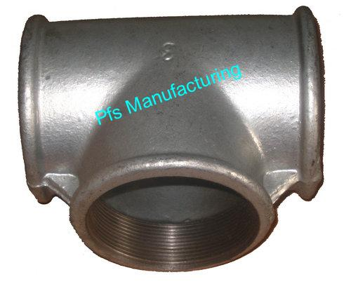 BSP with Ribs Fittings-Equal Tees