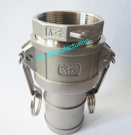 SS316 Camlock coupling A+C