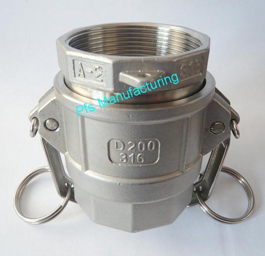 SS316 Camlock coupling A+D
