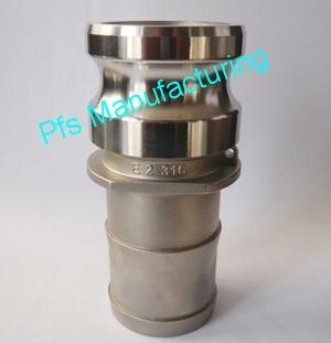 SS316 Camlock coupling type E-