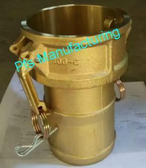 Brass Camlock Type C